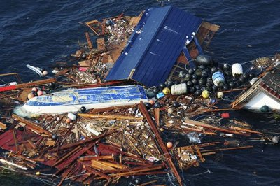 floating tsunami debris