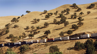 ride the train - Cali style