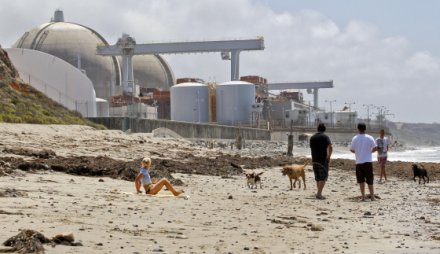 San Onofre Nuclear Generating Station in San Onofre, Calif